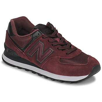 Cipők Női Rövid szárú edzőcipők New Balance 574 Bordó