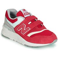 Cipők Gyerek Rövid szárú edzőcipők New Balance 997 Piros