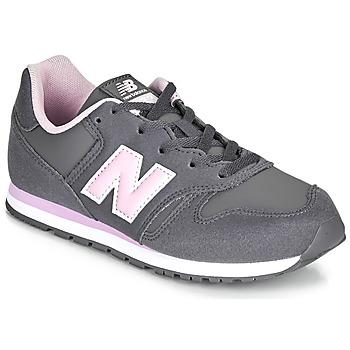 Cipők Lány Rövid szárú edzőcipők New Balance 373 Szürke / Rózsaszín
