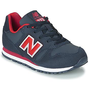 Cipők Gyerek Rövid szárú edzőcipők New Balance 373 Kék / Piros