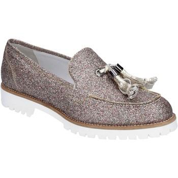 Cipők Női Mokkaszínek Vsl BS62 Ezüst