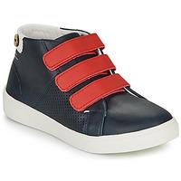 Cipők Lány Rövid szárú edzőcipők Faguo ASPENLOW LEATHER Kék