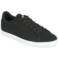 Cipők Női Rövid szárú edzőcipők Le Coq Sportif AGATE NUBUCK Fekete  / Ezüst