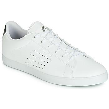 Cipők Női Rövid szárú edzőcipők Le Coq Sportif AGATE PREMIUM Fehér / Ezüst