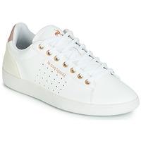 Cipők Női Rövid szárú edzőcipők Le Coq Sportif COURTSTAR W BOUTIQUE Fehér / Rózsaszín