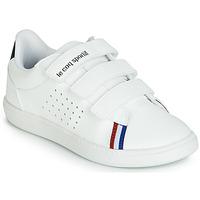 Cipők Gyerek Rövid szárú edzőcipők Le Coq Sportif COURTSTAR PS SPORT BBR Fehér