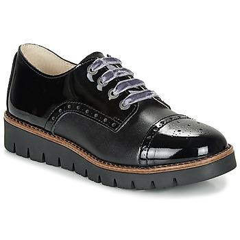 Cipők Lány Oxford cipők Catimini COXINELA Fekete
