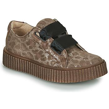 Cipők Lány Rövid szárú edzőcipők Catimini CAVANILLE Barna