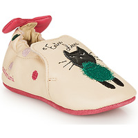 Cipők Lány Mamuszok Catimini CALICETTE Bézs / Rózsaszín