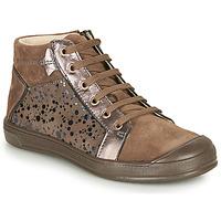 Cipők Lány Magas szárú edzőcipők GBB ORENGETTE Tópszínű
