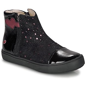 Cipők Lány Csizmák GBB OKITA Fekete