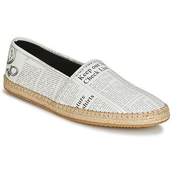 Cipők Férfi Gyékény talpú cipők John Galliano 6715 Fehér