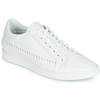 Cipők Férfi Rövid szárú edzőcipők John Galliano 6712 Fehér