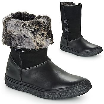 Cipők Lány Csizmák GBB OLINETTE Fekete