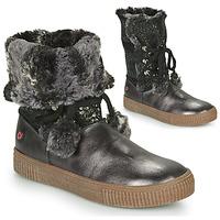 Cipők Lány Városi csizmák GBB NOUSTIK Fekete