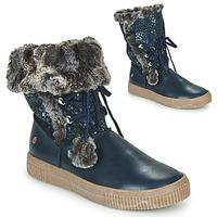 Cipők Lány Csizmák GBB NOUSTIK Kék