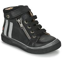 Cipők Fiú Magas szárú edzőcipők GBB OMAHO Fekete