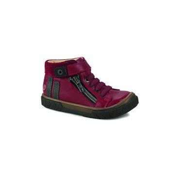 Cipők Fiú Magas szárú edzőcipők GBB OMAHO Piros