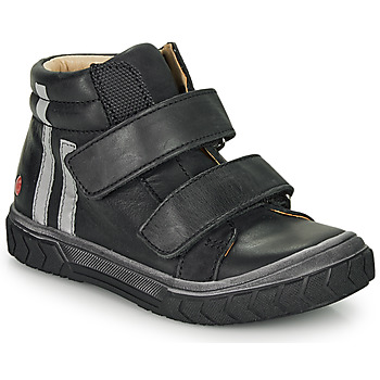 Cipők Fiú Magas szárú edzőcipők GBB OZONE Fekete