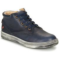Cipők Fiú Magas szárú edzőcipők GBB NINO Kék