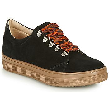 Cipők Lány Rövid szárú edzőcipők GBB OMAZETTE Fekete