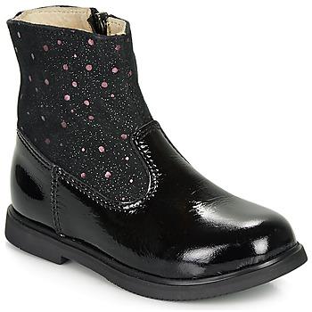 Cipők Lány Csizmák GBB OSHINO Fekete