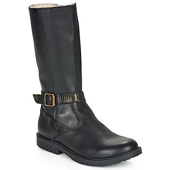 Cipők Lány Városi csizmák GBB OKINDI Fekete