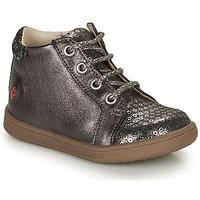 Cipők Lány Magas szárú edzőcipők GBB FAMIA Szürke / Ezüst