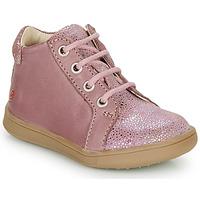 Cipők Lány Magas szárú edzőcipők GBB FAMIA Öreg / Rózsaszín