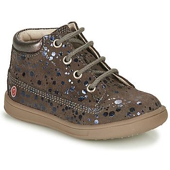 Cipők Lány Magas szárú edzőcipők GBB NINON Bézs