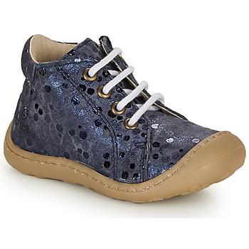 Cipők Lány Magas szárú edzőcipők GBB VEDOFA Kék