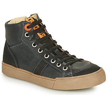 Cipők Fiú Magas szárú edzőcipők GBB OSTRAVI Fekete
