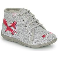Cipők Lány Mamuszok GBB OTRALEE Szürke / Rózsaszín