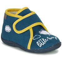 Cipők Fiú Mamuszok GBB OKANDI Kék / Citromsárga