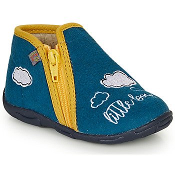 Cipők Fiú Mamuszok GBB OUBIRO Kék / Citromsárga