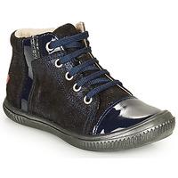 Cipők Lány Magas szárú edzőcipők GBB OUNA Kék
