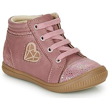 Cipők Lány Magas szárú edzőcipők GBB OTANA Öreg / Rózsaszín