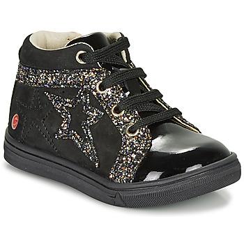 Cipők Lány Magas szárú edzőcipők GBB NAVETTE Fekete