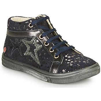 Cipők Lány Magas szárú edzőcipők GBB NAVETTE Tengerész