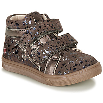 Cipők Lány Magas szárú edzőcipők GBB OHANE Barna