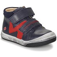 Cipők Fiú Magas szárú edzőcipők GBB OGROU Kék / Piros