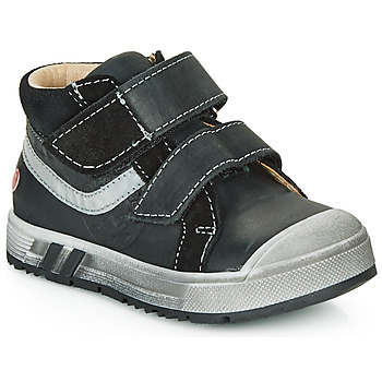 Cipők Fiú Magas szárú edzőcipők GBB OMALLO Fekete