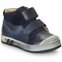 Cipők Fiú Magas szárú edzőcipők GBB OMALLO Tengerész
