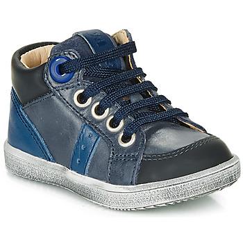 Cipők Fiú Magas szárú edzőcipők GBB ANGELITO Kék