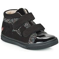 Cipők Lány Magas szárú edzőcipők GBB OHANE Fekete
