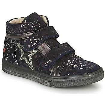Cipők Lány Magas szárú edzőcipők GBB OHANE Tengerész