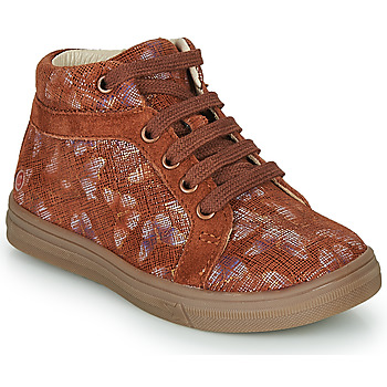 Cipők Lány Magas szárú edzőcipők GBB OMBLINE Téglavörös