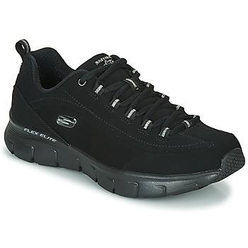 Cipők Női Rövid szárú edzőcipők Skechers SYNERGY 3.0 Fekete