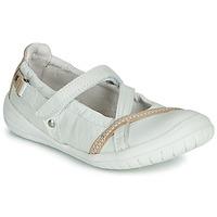 Cipők Lány Balerina cipők / babák Ramdam BEZIERS Fehér