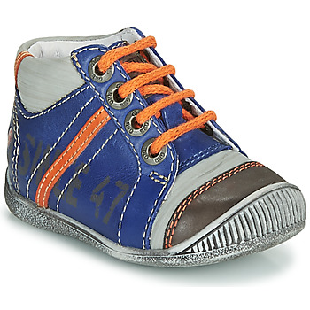 Cipők Fiú Csizmák GBB ISIS Kék / Narancssárga